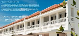e o ariza courtyard terraces for rent penang malaysia penang
