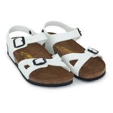 birkenstock patent white rio sandals alexandalexa