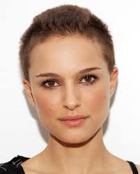i love natalie portman u0027s pixie cut shaved head i might get this