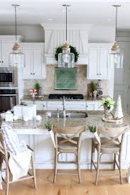 modern farmhouse kitchen island pendants blogger purchased at