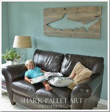 How To Refinish A Table Sand And Sisal by Shark Pallet Art Sand And Sisal