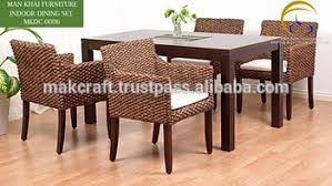 Rattan Kitchen Table by Water Hyacinth Handicraft Dining Table And Chairs Indoor Rattan