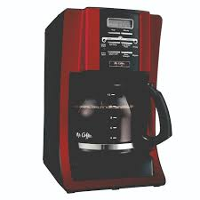 Under Cabinet Coffee Maker Rv Mr Coffee Advanced Brew 12 Cup Programmable Coffee Maker Red