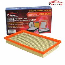 nissan frontier engine air filter amazon com potauto map 6039 engine air guard filter replacement
