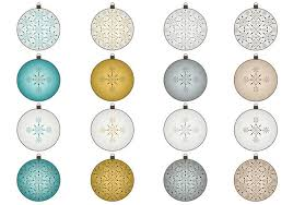 snowflake ornaments brush and png pack free photoshop