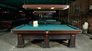 brunswick monarch pool table brunswick pool tables the 90 year old brunswick billiards tables