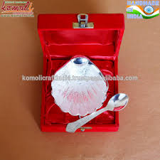 silver plated baby gifts sea shell shape silver plated indian baby shower gifts india