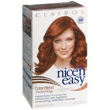 clairol nice n easy natural light auburn clairol nice n easy hair color 6r 110 natural light auburn