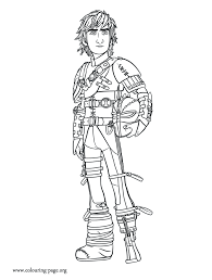 train dragon 2 older hiccup coloring