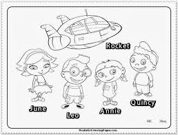 little einsteins coloring pages realistic coloring pages spesific
