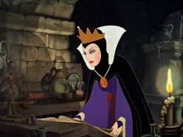 snow white jealous queen evil witch