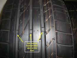 toyota tire wear tread wear indicator can assist drivers with tyre safety when