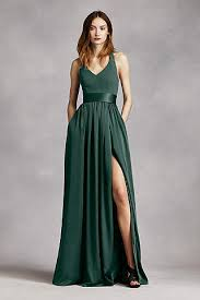 green bridesmaid dresses forest green bridesmaid dresses david s bridal