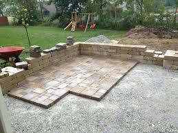 How To Do Paver Patio Square Backyard Pavers Design Idea And Decorations Using