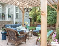 Backyard Room Ideas Patio Decorating Ideas Our New Outdoor Room Atta Says