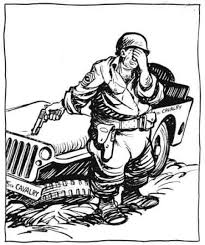 army jeep drawing funnies in uniform u2013 the role of comic strips during wwii tested