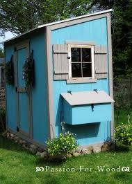 How To Build A Shed Out Of Wood by Ana White Chicken Coop Run For Shed Coop Diy Projects