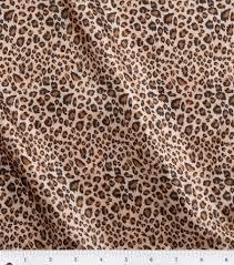 leopard fabric fashion lining fabric 57 leopard joann