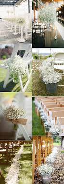 baby s breath wedding flowers 40 ideas to use baby s breath