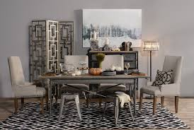 Dining Room Furniture Chemistry Modern Cooper Rectangle Dining Table Living Spaces