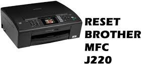 Brother Printer Mfc J220 Resetter | reset brother mfc j220 redefinir purge youtube