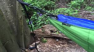 eno hammock ember 2 underquilt quick review youtube