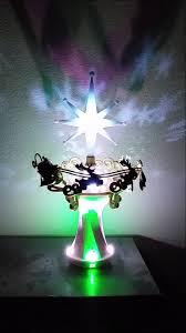 2014 hallmark here comes santa claus tree topper