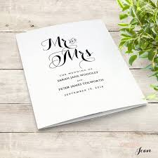 where to get wedding programs printed printable folded order of service wedding program byron edit