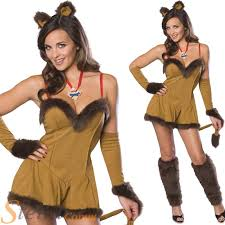 ladies cowardly lion costume wizard of oz halloween fancy dress