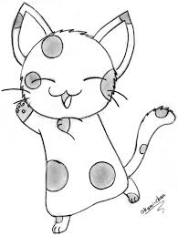 5 best images of printable coloring pages kitty cat cat coloring