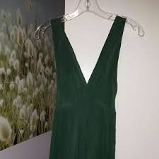 women u0027s green zara chiffon dress on poshmark
