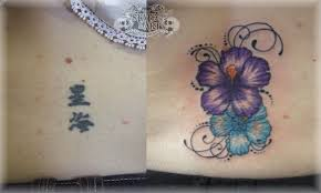 butterfly before and after cover up neck tattoos photo 3 photo