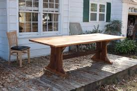 Custom Heart Pine Dining Room Table By Black Mountain Furniture - Pine dining room sets