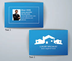 Realtor Business Card Template Real Estate Business Card Template Flyerforu Com
