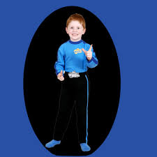 wiggles costume for toddlers the wiggles blue wiggle anthony boys character costume premium