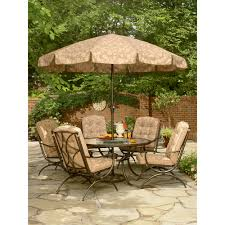 Martha Stewart Patio Furniture Cushions by Addison Patio Dining Table With Lazy Susan Improve Your Patio U2013kmart