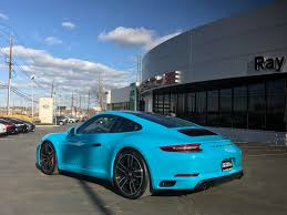 blue porsche 911 dealer inventory 2017 porsche 911 c2s coupe 7 speed manual miami