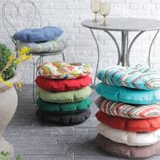 Turquoise Bistro Chair 79 Best Round Seat Pads Circular Seat Cushions Round Seat Pads