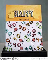 the lawn fawn blog a fun 40th birthday card by jenn