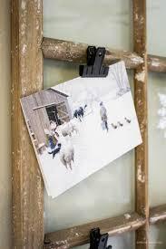 Home Vintage Decor Vintage Window Christmas Card Display Idea By A House And A Dog
