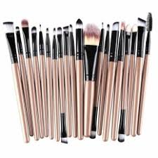 20pcs make up brushes cosmetic plastic handle basic makeup brush set intl