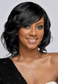 long hair styles with swoop bangs black hair black short hairstyles with side swept bangs african american
