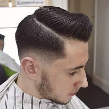 short natural tapered low hairstyles with a part 25 classic taper haircuts men s haircuts hairstyles 2018
