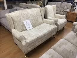 2 Seater Sofa And Armchair Highland Wingback 2 Seater Sofa U0026 Armchair Suite