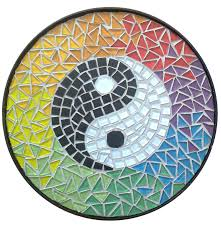 Yin Yang Table by Ying Yang Mosaic Top For Table By Eleonorailieva On Deviantart
