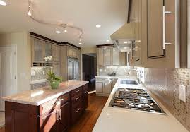 Contemporary Kitchen Light Fixtures Attractive And Modern Track Lighting Laluz Nyc Home Design