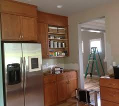 gap between fridge and cabinets how to fill gap between cabinet and ceiling www resnooze com