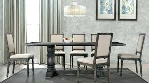 gray round dining table set rustic gray dining table icheval savoir com