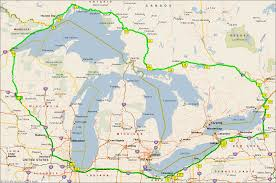 Great Lakes Crossing Map Great Lakes Challenge Route