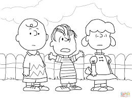 a charlie brown thanksgiving full movie charlie brown lucy and linus coloring page supercoloring com